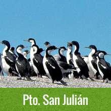 Puerto San Julián, Santa Cruz, Patagonia Argentina
