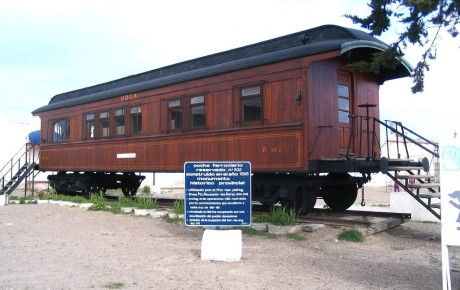 Coche Ferroviario Histórico